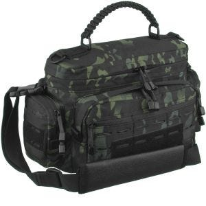 Mil-Tec Tactical Paracord Bag Small Umhängetasche Multitarn Black