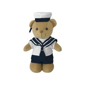 Mil-Tec Teddybär im Marine-Stil
