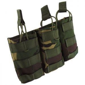 Pro-Force M4/M16 Dreifach-Magazintasche mit MOLLE-Befestigungssystem DPM