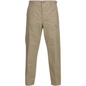 Propper BDU Hose mit Knopfverschluss aus Baumwoll-Polyester-Ripstop Khaki