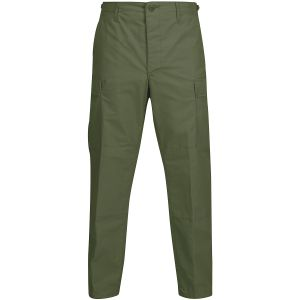 Propper BDU Hose mit Knopfverschluss aus Baumwoll-Polyester-Ripstop Olive Green