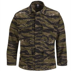 Propper Uniform BDU-Jacke aus Baumwoll-Polyester-Ripstop Asian Tiger Stripe