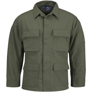 Propper Uniform BDU-Jacke aus Baumwoll-Polyester-Ripstop Olivgrün
