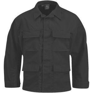 Propper BDU Jacke aus Baumwoll-Polyester-Ripstop Schwarz