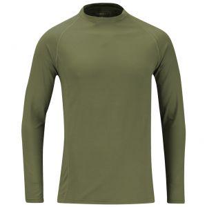 Propper Langarm-Unterhemd aus mittelschwerem Stoff Olivgrün