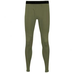 Propper lange Unterhose aus mittelschwerem Stoff Olivgrün