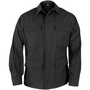 Propper Uniform BDU-Jacke aus Baumwoll-Polyester-Ripstop Schwarz