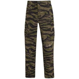 Propper Uniform BDU-Hose aus Baumwoll-Polyester-Ripstop Asian Tiger Stripe