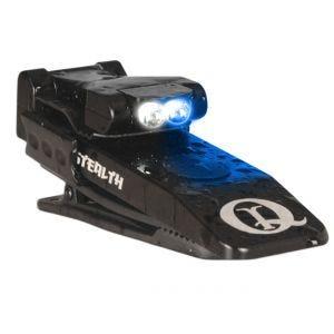QuiqLite Stealth LED-Taschenlampe Weiß/Blau