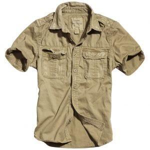 Surplus Raw Kurzarmshirt im Vintage-Stil Beige