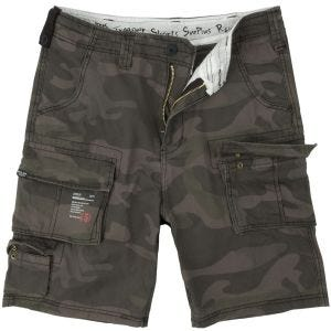 Surplus Trooper Shorts Black Camo