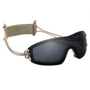 Swiss Eye Infantry Sportbrille mit Monoglas in Smoke