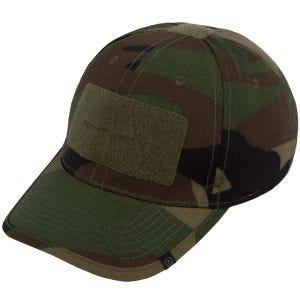 Pentagon Tactical 2.0 Basecap aus Ripstop-Material Woodland