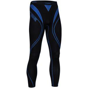Tervel Optiline Sport-Leggings Schwarz/Blau