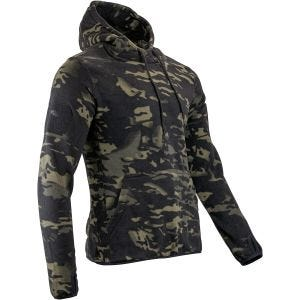 Viper Tactical Fleece-Kapuzenpullover V-Cam Black