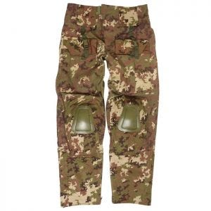 Mil-Tec Warrior Hose mit Knieschutz Vegetato Woodland