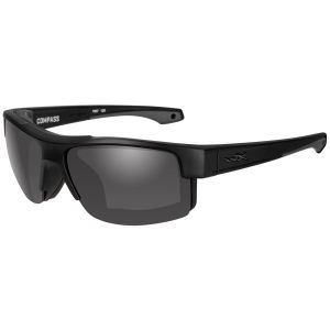 Wiley X WX Compass Glasses - Smoke Grau Lens / in Mattschwarz Frame