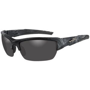 Wiley X WX Valor Polarized Glasses - Smoke Grau Lens / Kryptek Typhon Frame