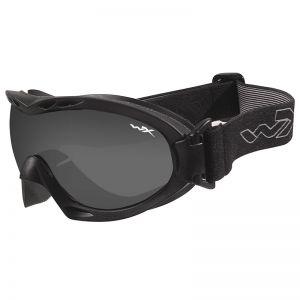 Wiley X Nerve Schutzbrille - Gläser in Smoke Grey + Transparent / Gestell in Mattschwarz